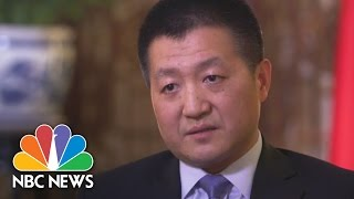 China Speaks About President Donald Trump, South China Sea, Trade (Full Interview) | NBC News