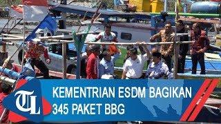Kementerian ESDM Bagikan 345 Paket BBG Untuk Nelayan di Lampung
