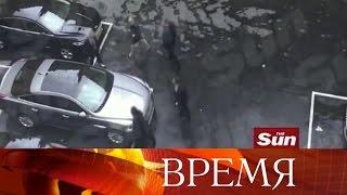 Британское издание «Сан» опубликовало видео эвакуации премьер-министра Терезы Мэй вдень теракта.