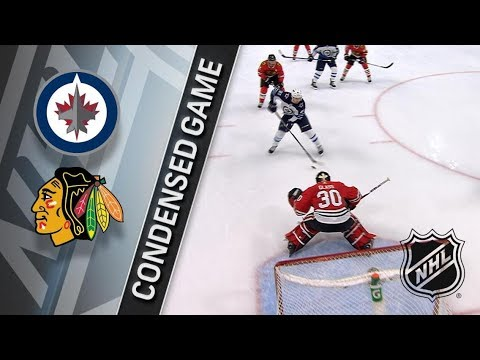 Winnipeg Jets vs Chicago Blackhawks – Jan. 12, 2018 | Game Highlights | NHL 2017/18. Обзор матча