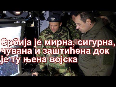 Uoči pravoslavne Nove godine, ministar odbrane Aleksandar Vulin i načelnik Generalštaba Vojske Srbije general-potpukovnik Milan Mojsilović, u pratnji komandanta Ratnog vazduhoplovstva i protivvazduhoplovne odbrane general-majora Duška…