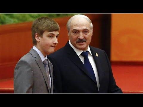 Лукашенко предложил сыну стать президентом. НУ И НОВОСТИ 53