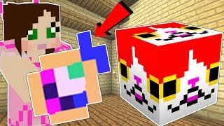 Minecraft: KITTY LUCKY BLOCK!!! (CUTE BLOCKS & WEIRD ITEMS!) Mod Showcase