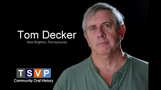 Tom Decker: In My Own Words