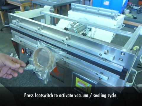 Sealer Sales GVS Workhorse Vacuum Sealer - Industrial Duty - Stainless Steel - GVS Workhorse Nozzle Vacuum Sealer - sold by Sealer Sales
