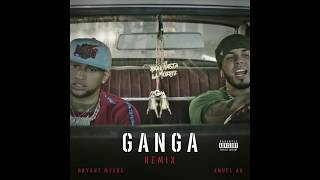 Bryant Myers, Anuel AA – Gan Ga (Remix) ( Letra  Lyrics  English Translation)