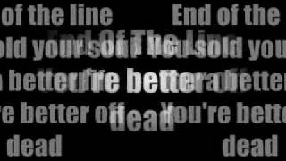 arch enemy end of the line lyrics