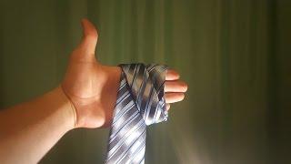 Nyakkendő kötés tenyéren- avagy a legegyszerűbb kötési technika