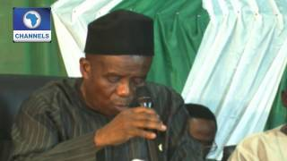 INEC Declares Mohammed Jibrilla Governor-elect Of Adamawa 13/04/15