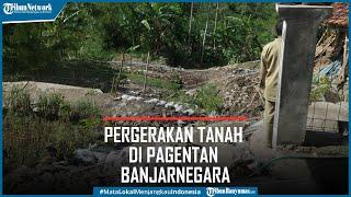 12 Rumah Rusak Akibat Pergerakan Tanah di Pagentan Banjarnegara, Pemdes Berharap Relokasi