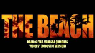 Dario G Feat. Vanessa Quinones - Voices (Acoustic Version)
