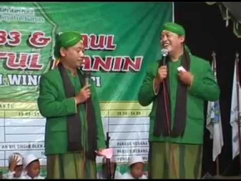 Markonyik dan Kunyil dlm Parade Rebana Harlah Tarbiyatul Banin ke 83 & Haul Para Pendiri