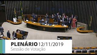 Plenário - Votação de propostas legislativas - 12/11/2019 13:00