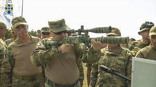 Випробування нових зразків озброєння ВСУ