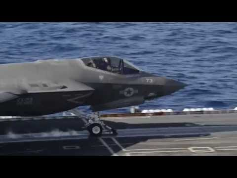 F-35C Sea Trials Crew Interviews