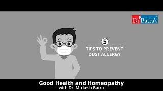 Dust Allergy | Self-Help Tips