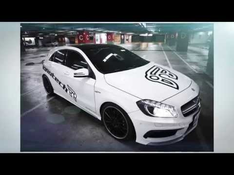 Mercedes Benz A45 AMG with iPE exhaust system DRIVE & SOUND
