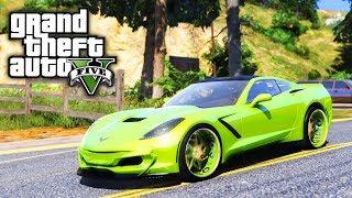 NEW Big Rig & Corvette Stingray On 24s Forgiatos! GTA 5 Real Hood Life 3 #52 (Real Life Mod)