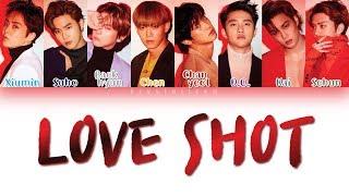 "EXO ""LOVE SHOT"" [HAN|ROM|ENG Color Coded Lyrics]"