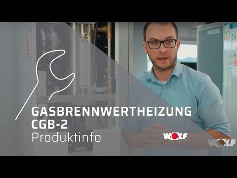 WOLF Gasbrennwertheizung CGB-2