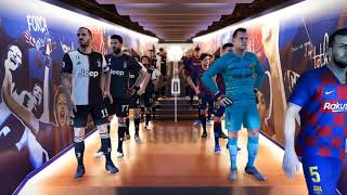 PES 2020 The players are playing in the field