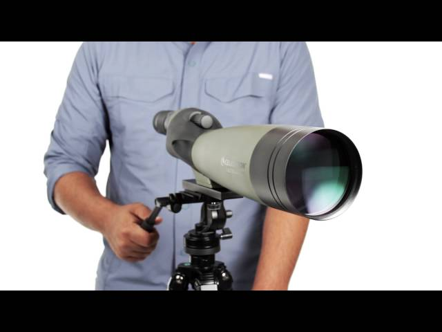 Celestron Ultima 100mm 22-66X Angled Spotting Scope - 52252