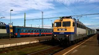 preview picture of video '432 263 indul az S820 Személyvonattal Szolnok állomásról.'