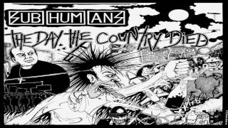 Subhumans - The Day The Country Died (Full Album)