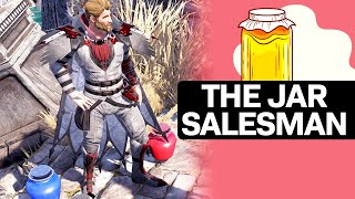 The Jar Salesman and his 'Jars of Arts'