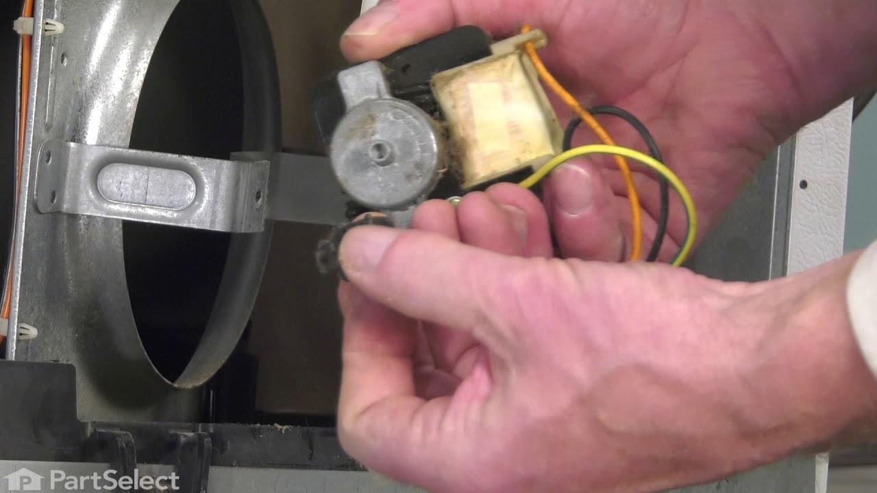 Replacing your General Electric Refrigerator Condenser Fan Motor