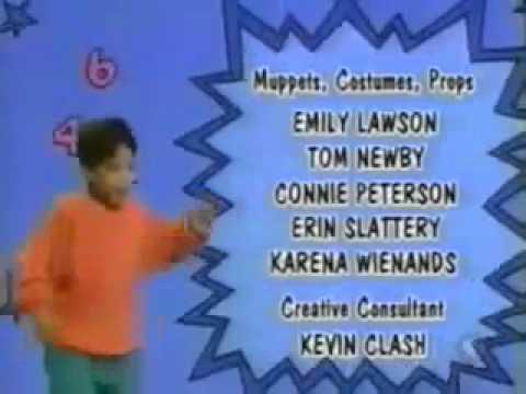 Sesame street season 31 credit crawl (original version)