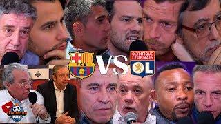 Barça VS. Olympique Lyon Con EL CHIRINGUITO | VUELTA OCTAVOS CHAMPIONS