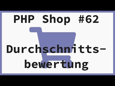 Durchschnittsbewertung des Produkts ausgeben - PHP Online Shop Tutorial   Part 62