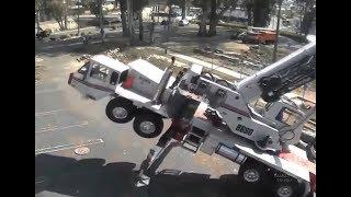 Смотреть онлайн Подборка крушений подъемный машин