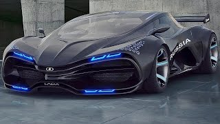 VECTOR RAVEN - RUSSIAN AWESOME SUPERCAR! (Lada Raven) I LIKE IT!