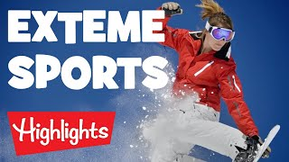Extreme Sports   2020   Compilation   videos for kids   Highlights Kids