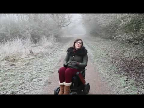TGA: WHILL Model C - Georgina, accessible travel blogger - vlog 7 - freedom in the frost YouTube video thumbnail