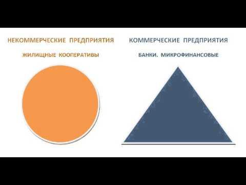 Коммерческие и некоммерческие организации. Про пирамиды