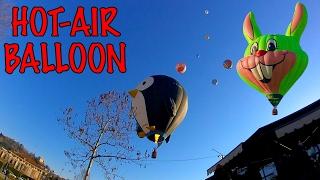 PARADE Hot-air Balloon ITALY Raduno Internazionale di MONGOLFIERE ПАРАД ВОЗДУШНЫХ ШАРОВ ИТАЛИЯ