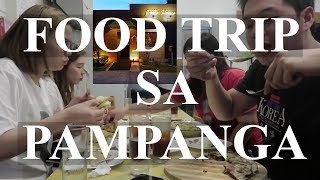 WHERE IN PAMPANGA? | FOOD TRIP SA TAG-ULAN!