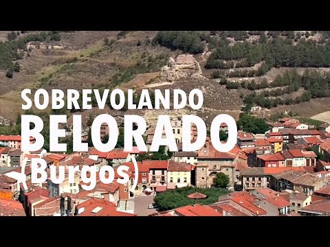 Sobrevolando Belorado (Burgos)