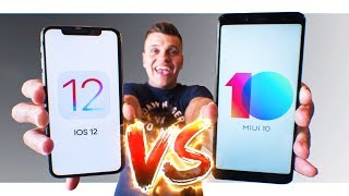 "IOS 12 vs MIUI 10. Xiaomi за копейки VS Apple ""за почку"""