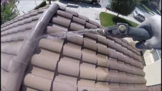 Certified SoftWash Tile Roof Cleaning in Morgan Hill CA