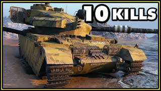 Centurion Action X - 10 Kills - 10K Damage - World of Tanks Gameplay