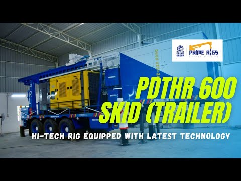 Pro DTH 600 Skid Mounted Borehole Drilling Rig For Sale