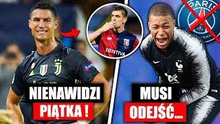 Cristiano Ronaldo nienawidzi Piątka ! Mbappe musi odejść przez Neymara ...   FOOTBALL NEWS