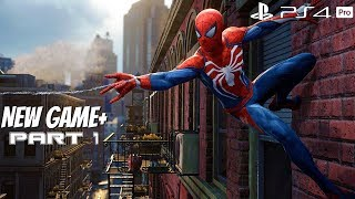Spider-Man PS4 - New Game+ Walkthrough Part 1 (Spiderman 2018) PS4 Pro ULTIMATE DIFFICULTY