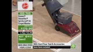 Hoover SteamVac SpinScrub 50 Carpet Washer