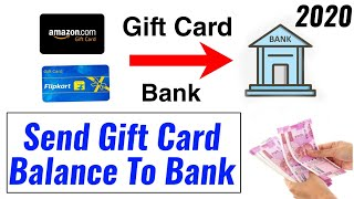 Send gift Card balance to bank instantly 2020:How to Sell any Gift Card online instantly