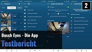 Bosch Eyes Überwachungskamera im Test - Die App (2)